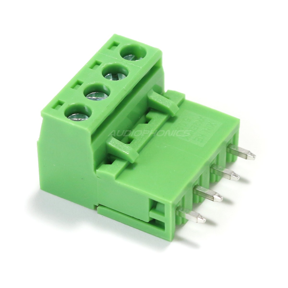 Terminal Block with Screws 4 Ways for PCB Straight-Angled 5.08mm Phoenix