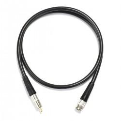CANARE Câble Numérique Coaxial 75 Ohm BNC-RCA 1m