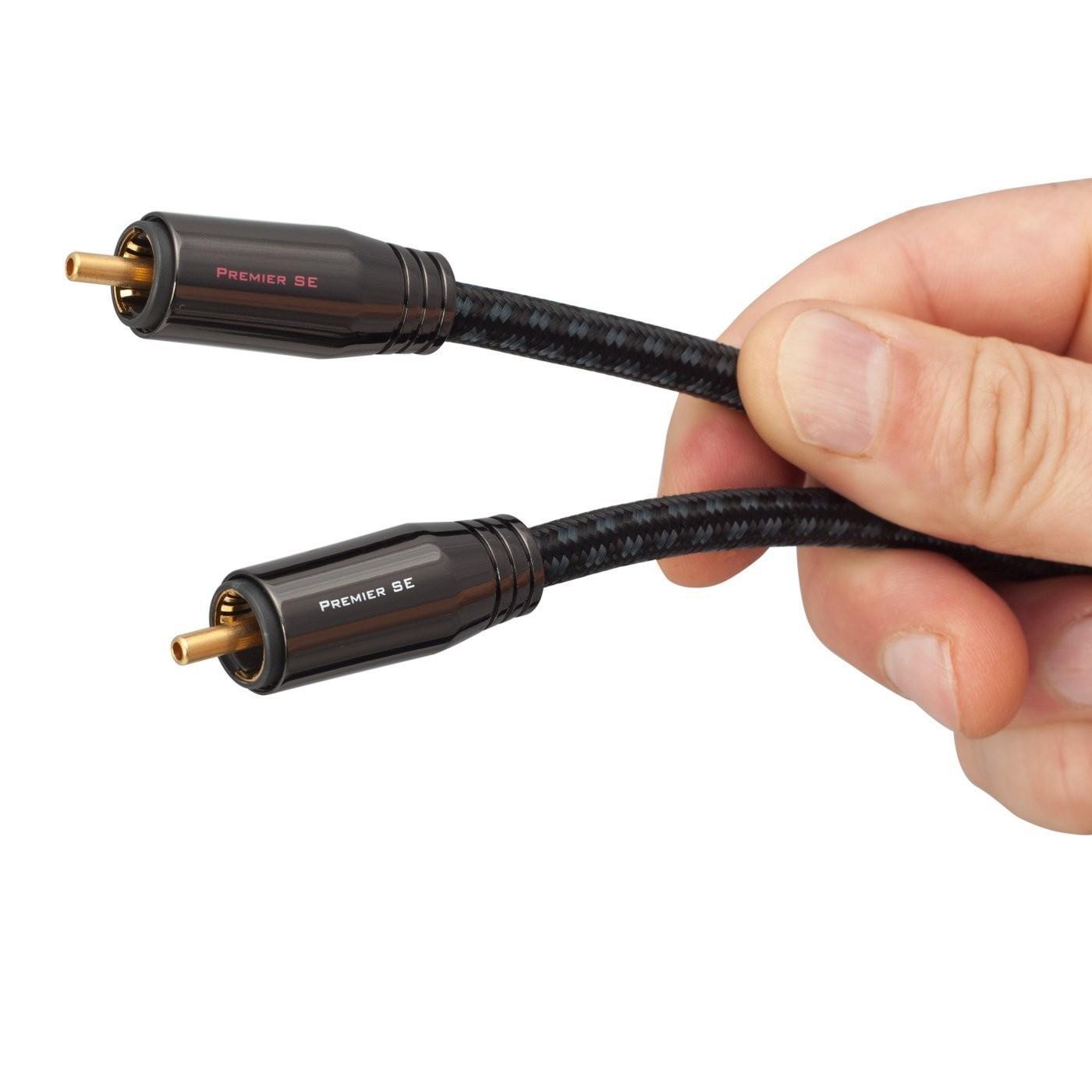 PANGEA Premier SE Câble de Modulation RCA (La paire) 1m
