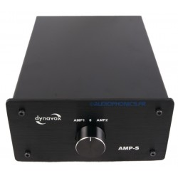 DYNAVOX AMP-S Speaker Selector Switch for Speaker / Amplifier Black