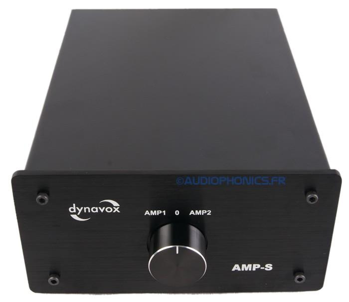 DYNAVOX AMP-S Speaker Selector Switch for Speaker / Amplifiers Black