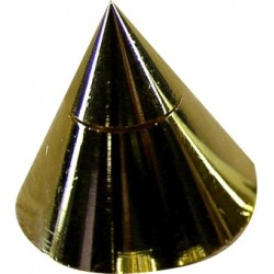 Conic Spikes Gold (Set x4)
