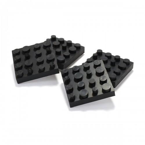 DYNAVOX ANTIVIBE Square Rubber Anti Vibration Isolation Pads (Set x4)