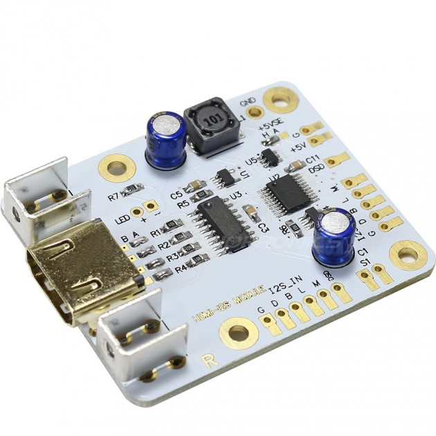 HDMI I2S LVDS to I2S Input Module HDMI I2S LVDS to I2S Output