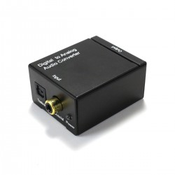 DAC TV MS8413 Convertisseur SPDIF Coaxial Optique vers Analogique RCA