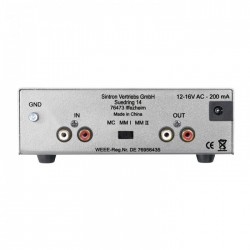 DYNAVOX TC-2000 Phono Preamplifier MM/MC Silver