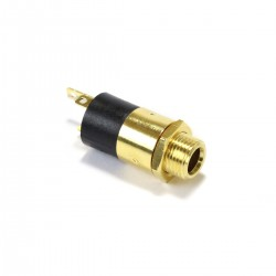 Jack 3.5mm Socket Gold Plated Brass