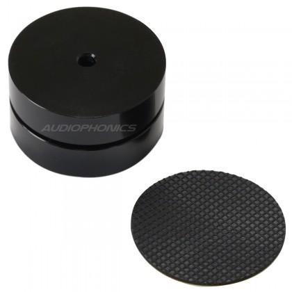 Pied Aluminium réglable 3 pôles à billes 39x24mm (unité) Noir
