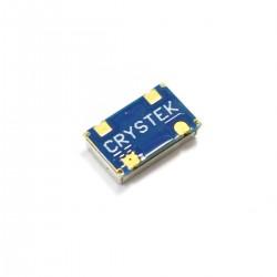 CRYSTEK Oscillateur d'Horloge à Bruit de Phase Ultra Faible 24.576MHz 3.3V 25ppm