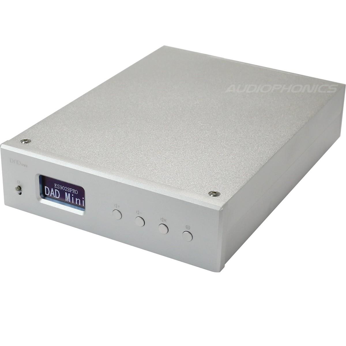 JA DAD MINI DAC USB ES9028 PRO symétrique XLR 32bit / 384kHz DSD 256 XMOS Argent