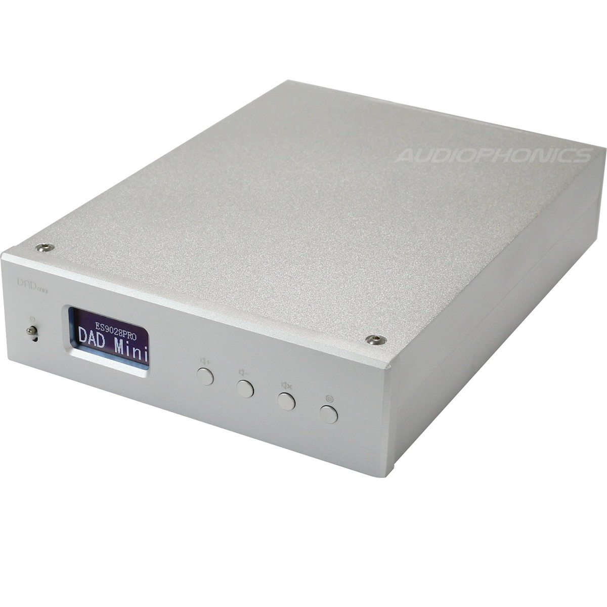 JA DAD MINI USB BALANCED DAC ES9028 PRO XLR 32bit/384kHz DSD 256 XMOS Silver