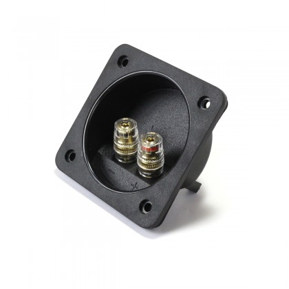 Built-in Terminal Block for Speakers Ø68mm