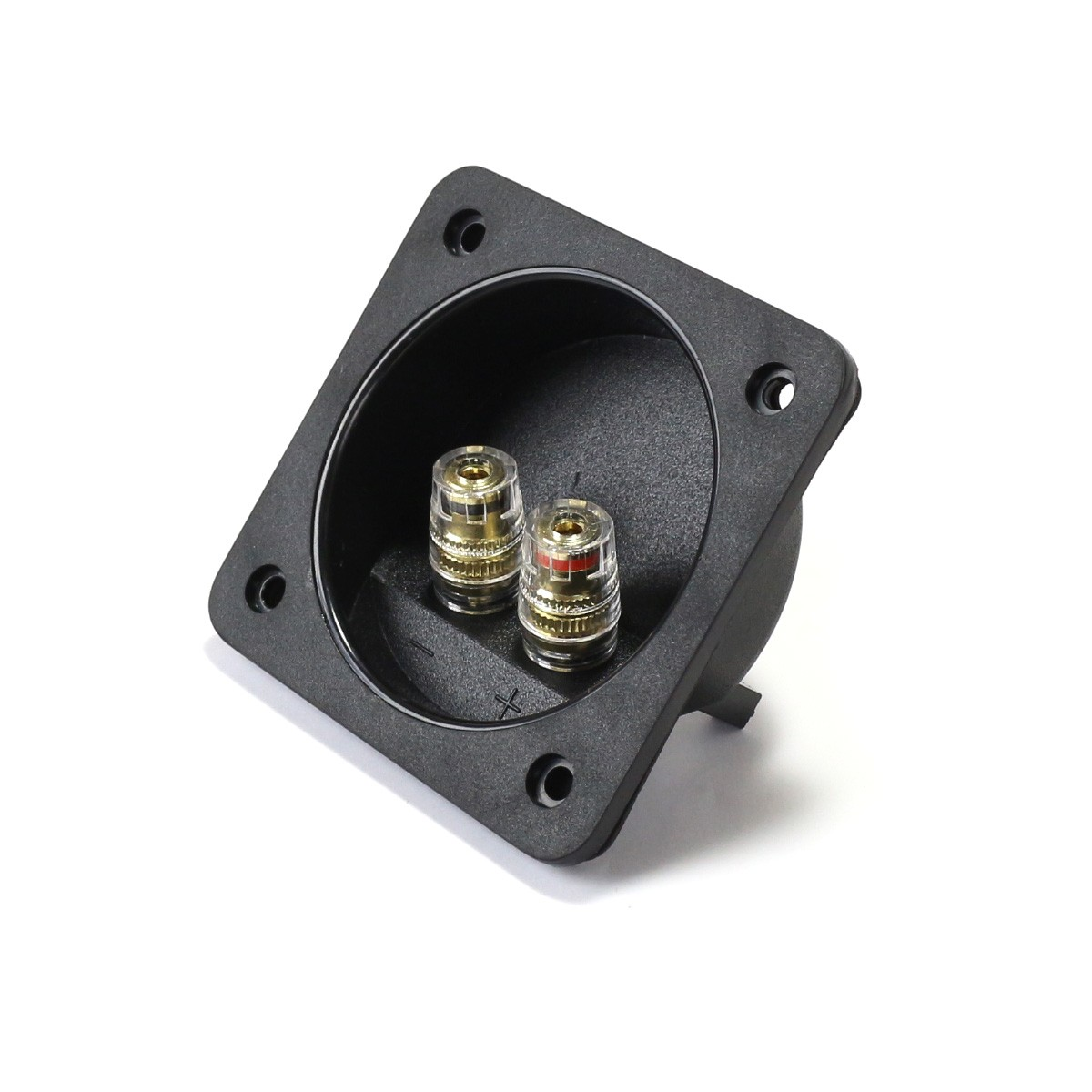 Isolated Built-in Terminal Block for Speakers Ø68mm