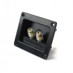 Isolated Built-in Terminal Block for Speakers 75x55mm