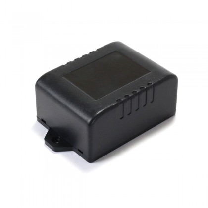 Plastic Case for Electronic Components 75x44x27mm Black