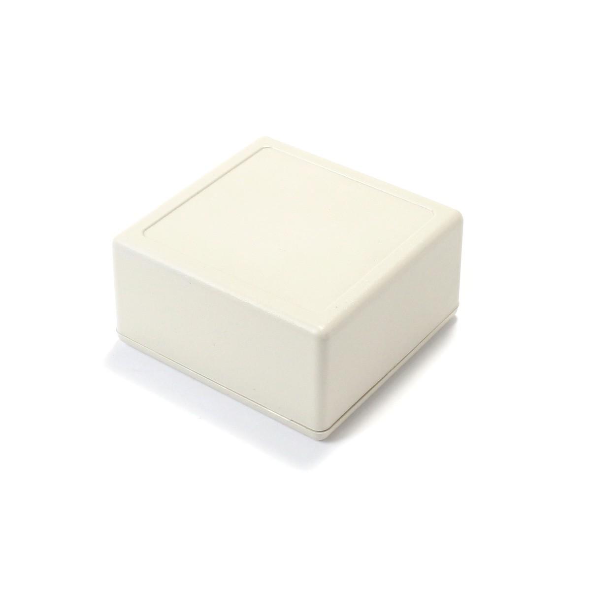 Boîtier Plastique pour Composants Électroniques Blanc 58x56x28mm