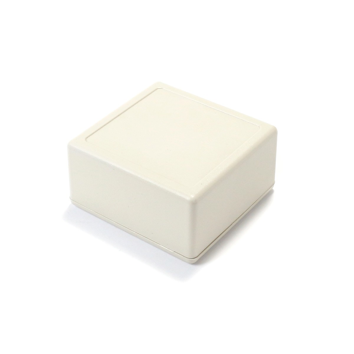 Plastic Case for Electronic Components White 58x56x28mm