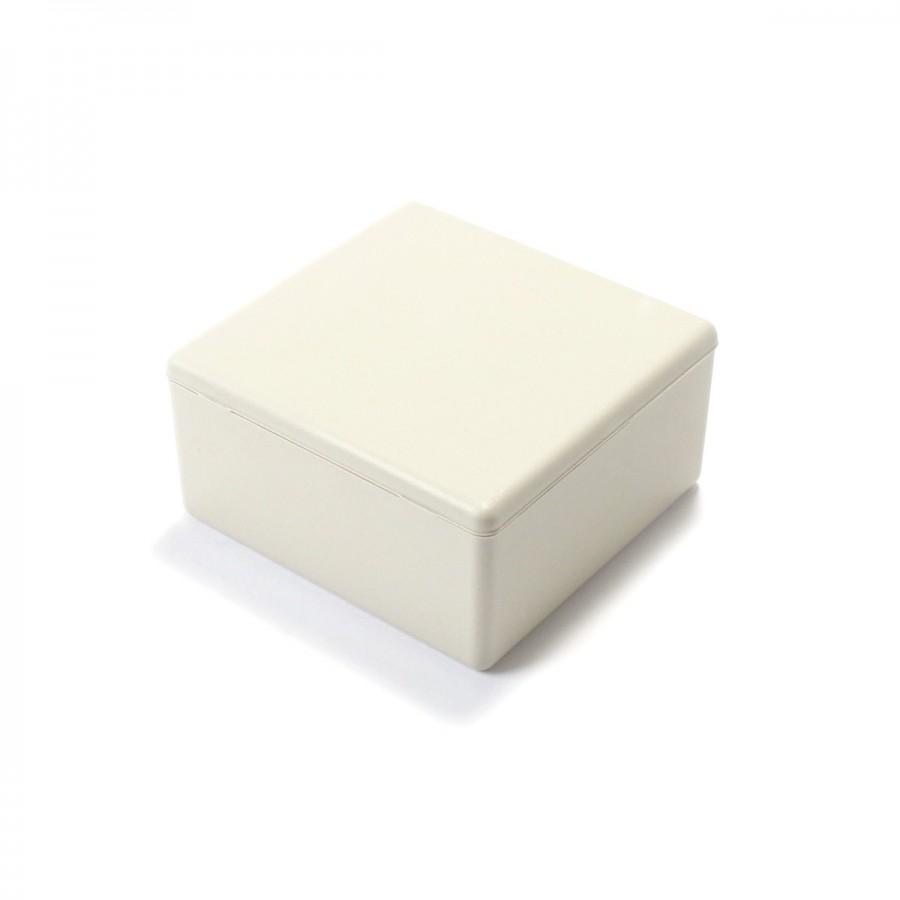 bo tier plastique pour composants lectroniques blanc 58x56x28mm audiophonics. Black Bedroom Furniture Sets. Home Design Ideas