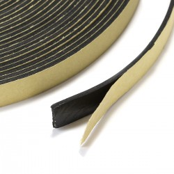 Joint D'étancheité en EVA pour Haut-Parleurs 10x1mm Noir