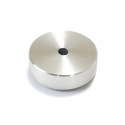 Aluminium Damping Feet 30x10mm Silver (Unit)