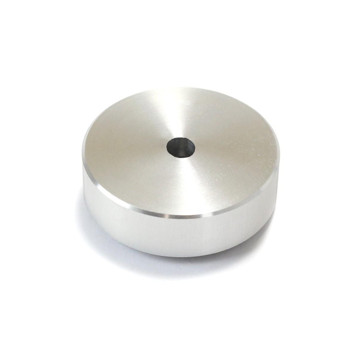 Pied Amortissant Aluminium 30x10mm Argent (Unité)