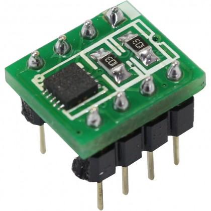 OPA1622 AOP stéreo sur support DIP 8