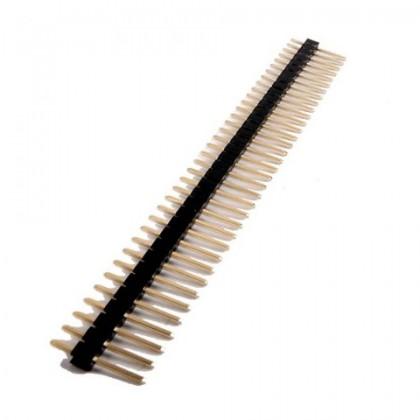 Barrette à broches 1X40 mâle écartement 2.54mm