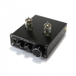 FX-AUDIO TUBE-03 Valves 6K4 Stereo Preamplifier Black