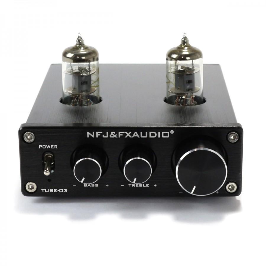 Fx Audio Tube 03 Valves 6j1 Stereo Preamplifier Black Audiophonics Amplifier Mono Subwoofer Bass Speaker Amp W Cable Wiring Kit Ebay
