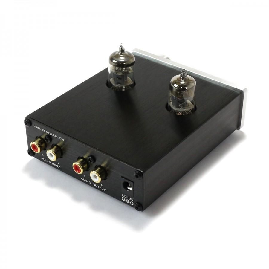 FX-AUDIO TUBE-03 Valves 6J1 Stereo preamplifier Silver