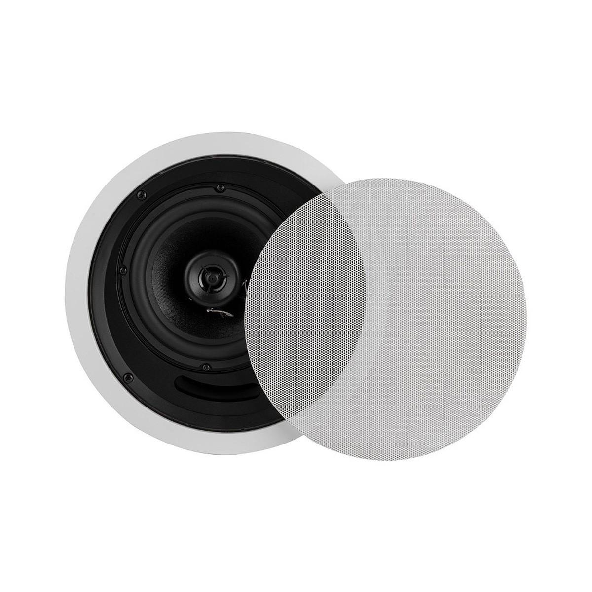 DAYTON AUDIO CS620EC Haut-Parleur de Plafond 2 Voies Fermé 25W 8 Ohm 50Hz - 20kHz Ø16.5cm