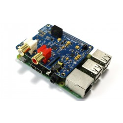 ESS ES9018K2M Module DAC I2S 32bit 384khz DSD Raspberry Pi 3 / A+ B+ / Pi 2 / I2S