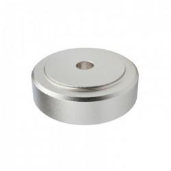 DYNAVOX Pieds Aluminium Brossé 30x10mm Argent (Set x4)