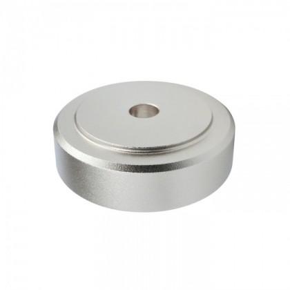 DYNAVOX Aluminium Damping Feet Silver 30x10mm (Set x4)