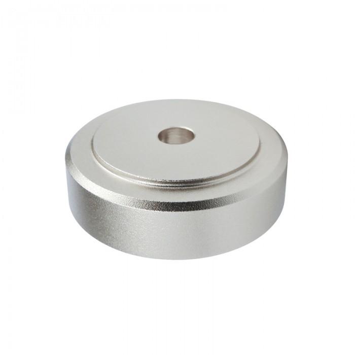 DYNAVOX Pieds Aluminium Brossés Argent 30x10mm (Set x4)