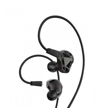 AG RT-1 Ecouteurs Intra-Auriculaire IEM Dual Driver 32 Ohm