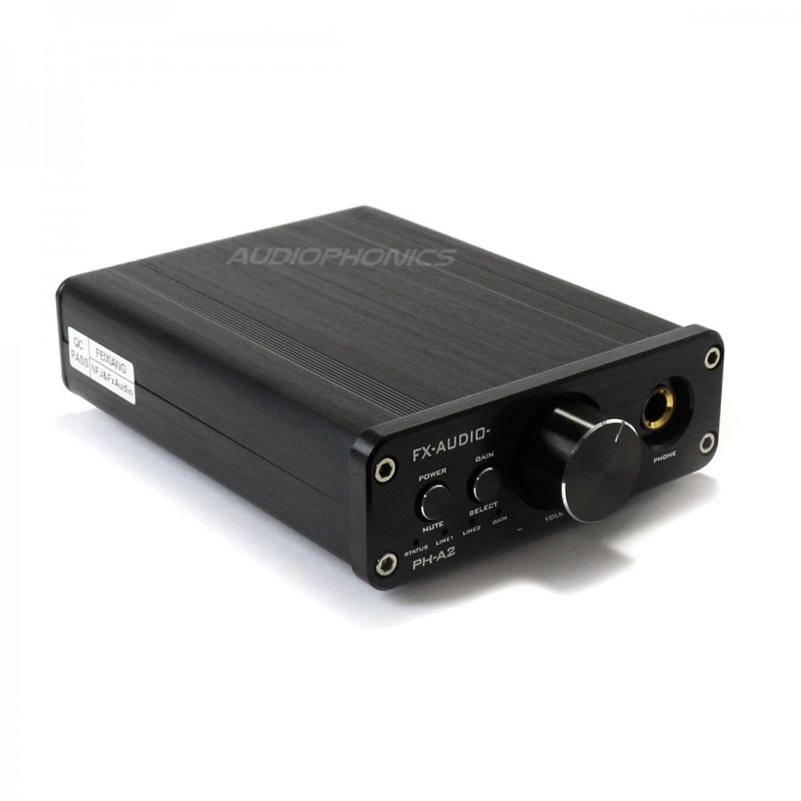 fx audio ph a2 amplificateur casque tpa6120a2 opa2604 audiophonics. Black Bedroom Furniture Sets. Home Design Ideas