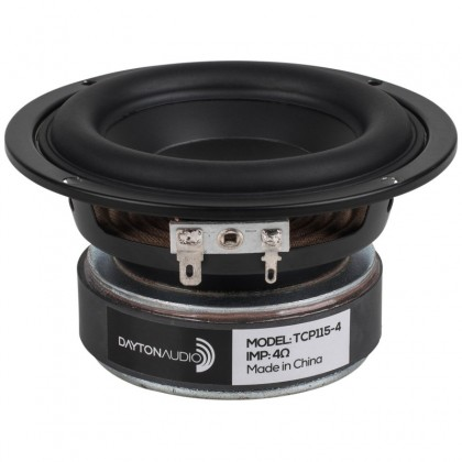 DAYTON AUDIO TCP115-4 4Ohm Midbass Ø 100mm (Unit)