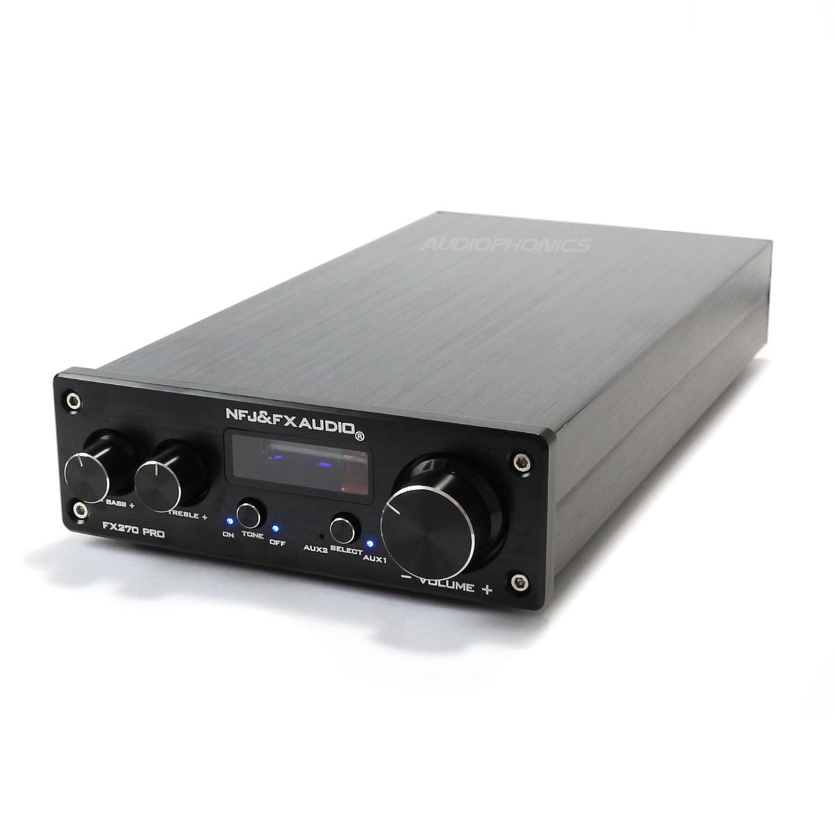 FX-AUDIO FX270 PRO Amplificateur Class A/B + Tubes 6K4 48W 4 Ohm