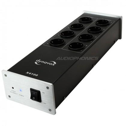 Dynavox X4000 HiFi Filter 8 Schuko Black