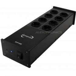 DYNAVOX X4100 Filtre secteur 8 ports Schuko Noir