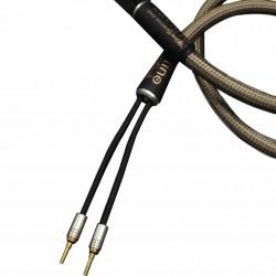 1877PHONO OCC Silver Dart banana Graphene speaker cables 5mm² 2.5m