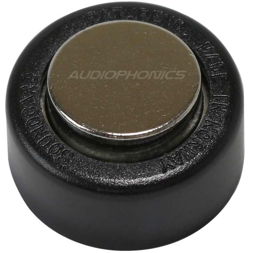 SOUNDCARE SUPERSPIKES FOOT Pieds Adhésifs 32x17mm Noir (Set x3)