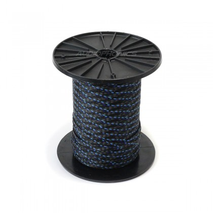 ELECAUDIO BLUE HELIX Expandable Braided Nylon Sleeve (PET) 6-16mm