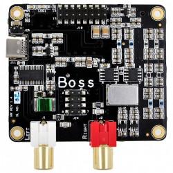 ALLO BOSS DAC V1.2 PCM5122 32Bit / 384kHz avec 2 horloges Master Clock I2S