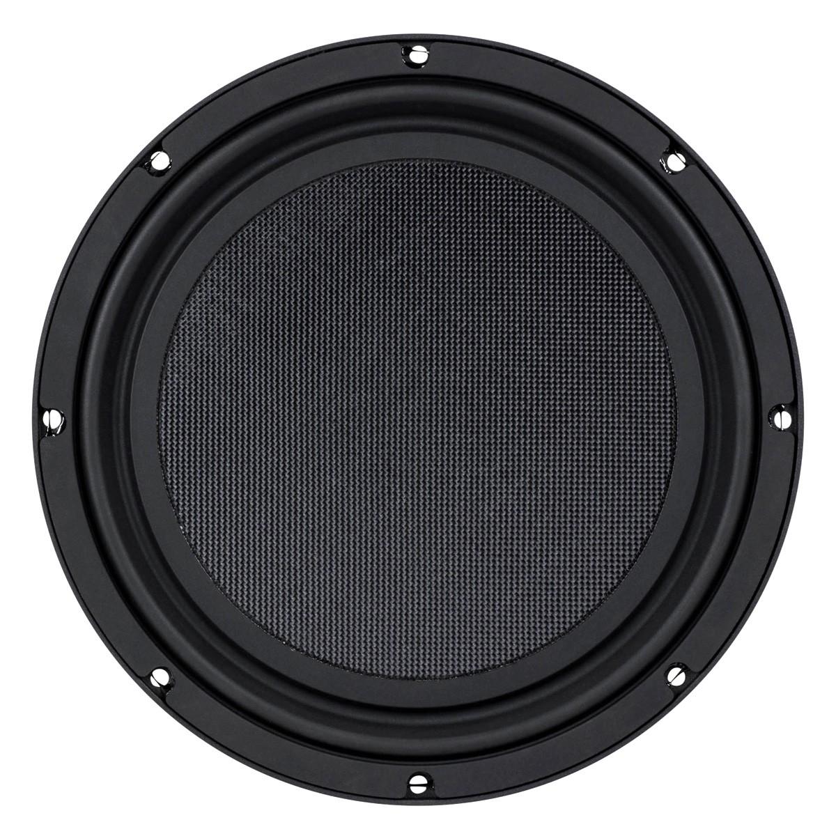 DAYTON AUDIO LS12-44 Speaker Driver Low Profile Subwoofer Dual Coil 250W 2x4 Ohm 88dB 28Hz - 300Hz Ø30.5cm