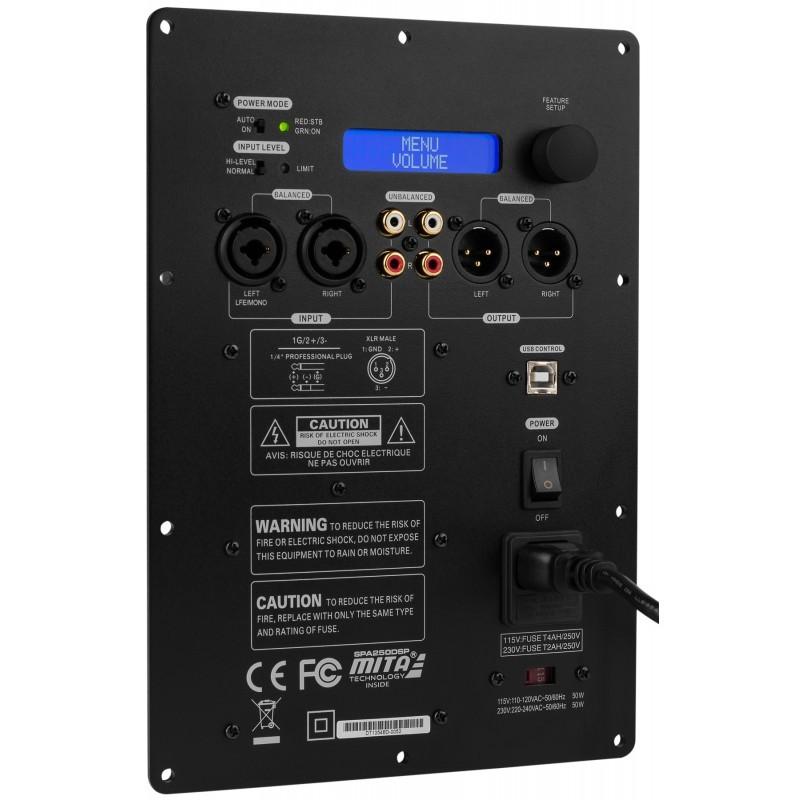 DAYTON AUDIO SPA250DSP Class D Amplifier & DSP for Subwoofer Module 250W