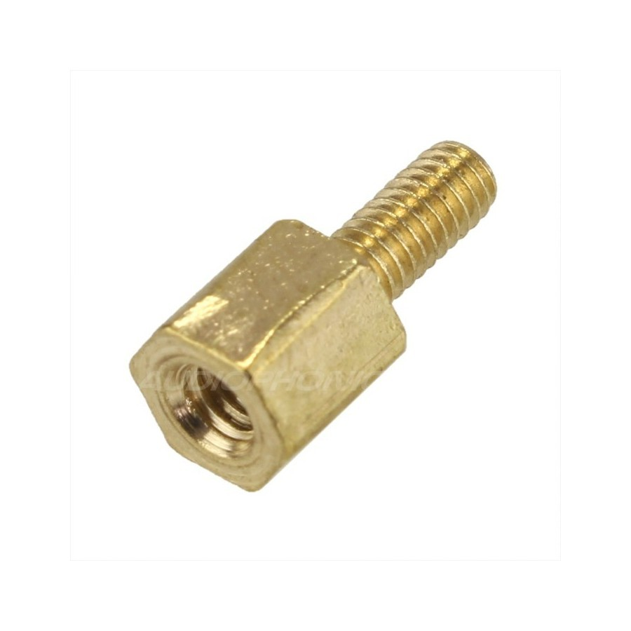 Brass Spacers M3x5mm Male / Female (x10)