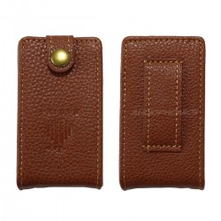 HIDIZS Leatherette Brown Case for Hidizs AP60 V2