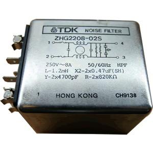 Filtre secteur antiparasite TDK 8A / 250V